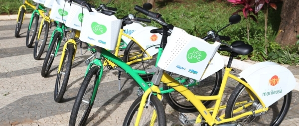 Uberlândia ganha projeto de compartilhamento de bicicletas
