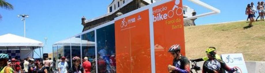 Barra ganha bicicletário com 44 vagas