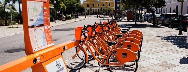 Usuários do transporte terão gratuidade à bikes em Pernambuco
