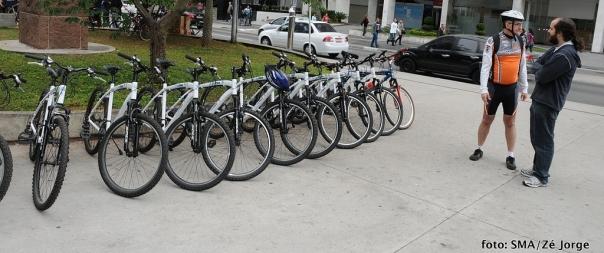 Prefeitura implanta em Curitiba o compartilhamento de bicicletas